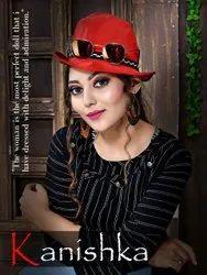 Reyon Party Wear Kanishka Kavya Designer Tops, Size: M L Xl