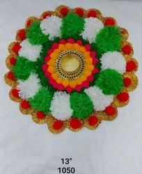 Decorative Artificial  Flower Diya
