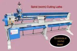 Wood Spiral Worm Lathe Machine