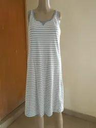 Short Length Short Slip Ladies Sleeve Less Night wear, 16 To 25