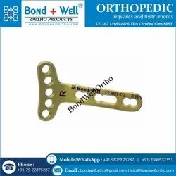 Orthopedic Implants Extra Articular Volar Plates