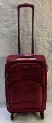 American Polo USA 56 CM Red 4 Wheeler Luggage Trolley bags / Suitcase Trolley Polyester