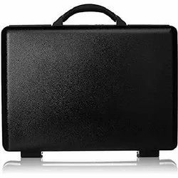 Solid Black American Tourister Voyager Plus Briefcase