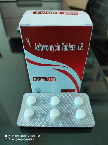 Azithromycin 250mg Tablet - Pvithro-250