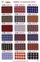 Cotton Co-ordinates Checks Uniform Shirting Fabric, Machine Wash, 200
