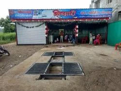 Washing Center Ramp With Tyre