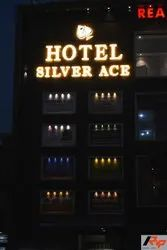 Acrylic Led Letters Hotel Signboard