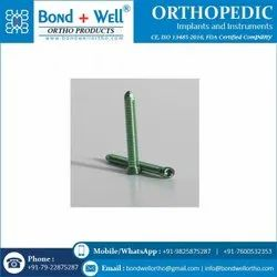3.5mm Orthopedic Implants Locking Head Screw