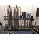 1000 LPH SS Reverse Osmosis Plant