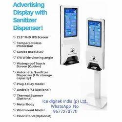 Wall Mounted Liquid Hand Sanitizer Dispenser Gel Sensor Soap Dispenser