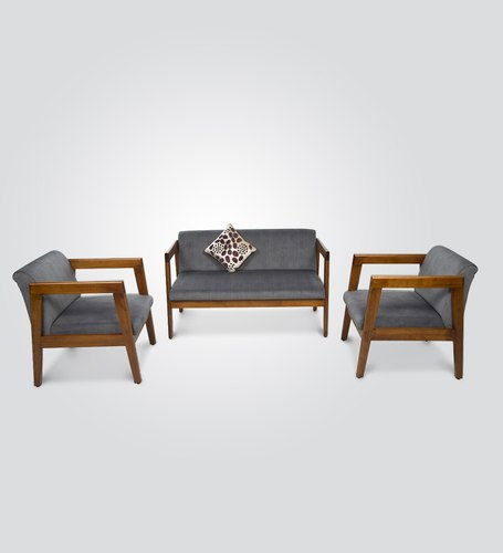 Wooden Modern 5 Seater Teak Wood Sofa Set Living Room 7 Inch Rs 20000 Set Id 22603482433