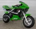 49cc green color pocket bike