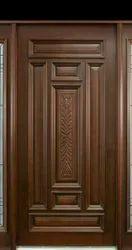 Brown 32mm Sagwan Wood Door, For Home