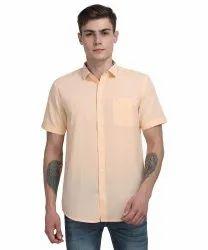 100% Cotton Mens Casual Half Shirt