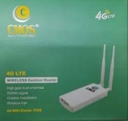 White Wireless or Wi-Fi CMOS 4G Wifi Router