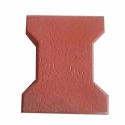 Outdoor I Shape Cement Interlocking Paver Block, For Pavement, Thickness: 60mm