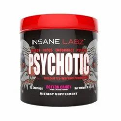 456mg Of Caffeine Insane Labz Psychotic Red Pre Workout, Non prescription, Treatment: Extreme Energy