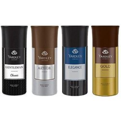 Spray MIx Yardley Men's Deodorants -150 Ml , Mrp 199
