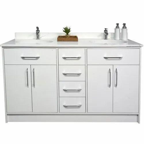 Modern Floor Mount And Wall Mount Double Sink Bathroom Vanity Rs 45000 Piece Id 22515007433