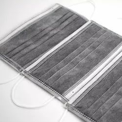 Bhivsariya Industries Disposable 4 Ply Carbon Face Mask, Number of Layers: 3