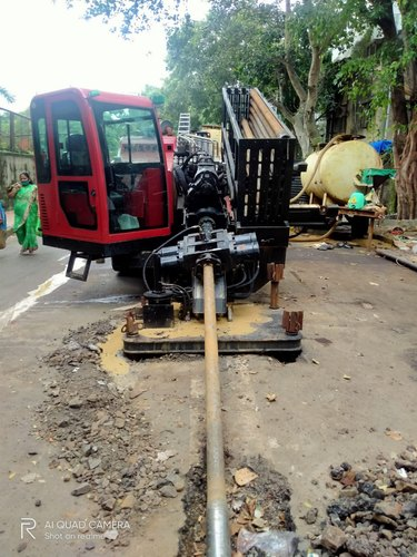 Installation Of Under Ground Pipes By Trenching /Trenchless Technology