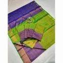 Party Wear Designer Uppada Silk Saree, 6.3 M (with Blouse Piece)