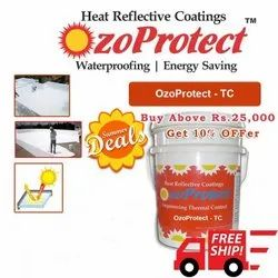 Thermo Coat Green High Performance Heat Reflective Coating - OzoProtect TC, Number Of Coatings: 2 Coats, Packaging Size: 5Kg