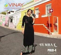 Vinay Fashoin Tumbaa Polo Vol 4 Fency Kurti Catalog
