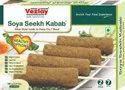 Vezlay Soya Seekh Kabab (plant Based), Packaging Size: 280 G