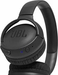 JBL - JBLT500BTBLU - TUNE500BT Powerful Bass Wireless On-Ear Headphones with Mic (Black & Blue)