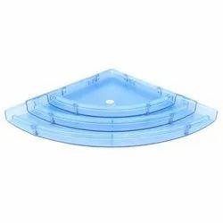 Blue Multipurpose Corner Shelf