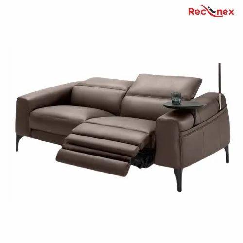 Reclinex Brown Modern Design Recliner, Modern Recliner Sofa Design