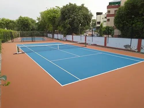 Acrylic Volleyball Court Construction Services