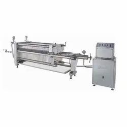 Unipack Plate and Frame Type Filter Press with Hydraulic Closing System