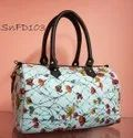 SnF Handcrafted Printed Fabric Duffel Bag