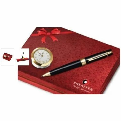 Sheaffer Pen With Clock