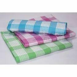 Cotton Multicolor Check Bath Towel, 230 grams, Size: 91*182 Cm