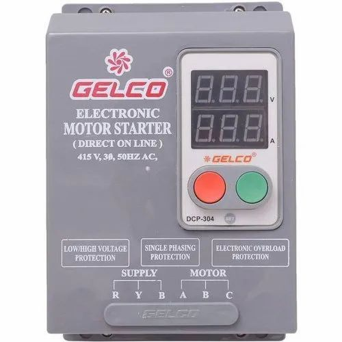 Gelco Single Phase Timer Starter For Submersible Pump Set