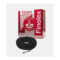 1 Sq Mm Finolex Flame Retardant PVC Insulated Black Cable