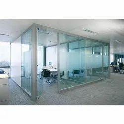 Glass Office Cabin