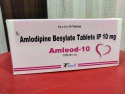 Amlodipine Besylate Tablets IP 10 Mg