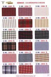 22009 School Uniform Shirting Fabric