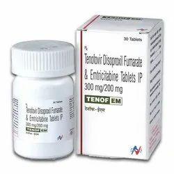 Emtricitabine   Tenofovir Disoproxil Fumarate Tenof EM 200   300mg