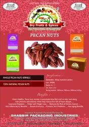Pecan Nuts, Packaging Type : Packet