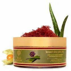 Khadi Essentials Kesari Aloe Jelly Skin Moisturizer, Packaging Size: 200gm