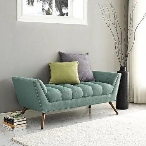 Wooden Foam 3 Seater Living Room Sofa, Living Room Bench