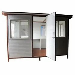 Prefabricated Puf Panel Security Cabin