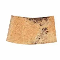 Brown Fireclay Brick, Size: 9 x 6 x 3 inch