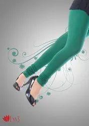 Cotton Lycra Churidar Knitted Leggings
