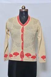 920 Woolen V Shape Cardigan